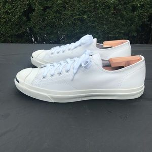 a1065438b1c Converse Shoes - Converse Jack Purcell Leather Low Mens 11 White